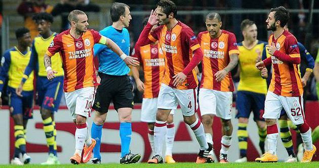 Galatasaray Şampiyonlar Ligi'nin en kötüsü