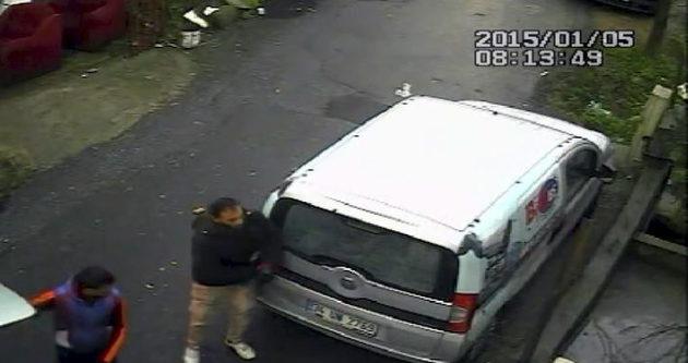 35 saniyede hırsızlık