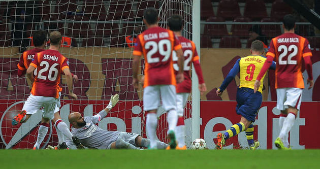 Galatasaray ilk kez bir puanda kaldı