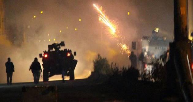 Mardin'de polise saldırı: 2 yaralı