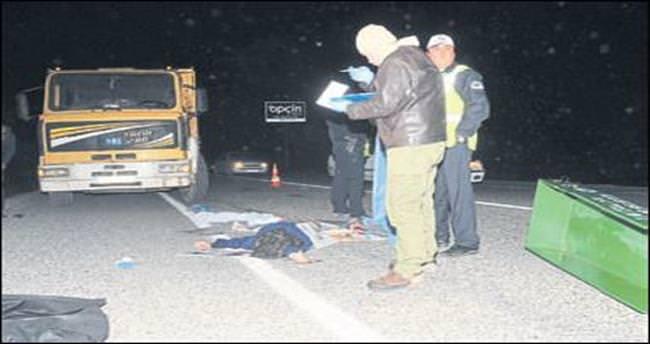 Kazada ölen annesi çıkınca şok geçirdi