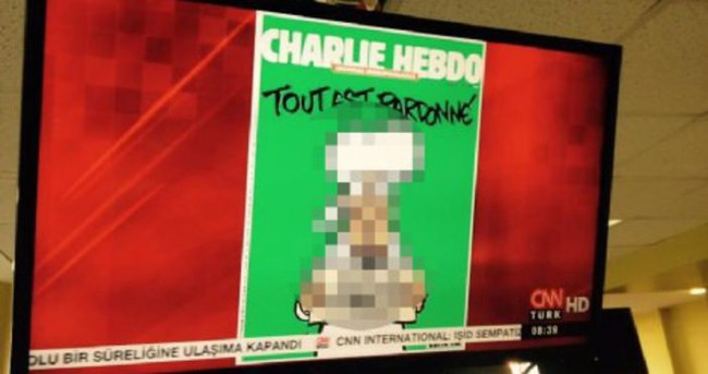 CNN Türk'ten Hz. Muhammed Skandalı