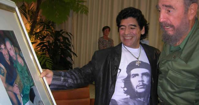 Castro'dan Maradona'ya mektup