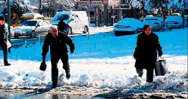 Isparta'da kar mücadelesi
