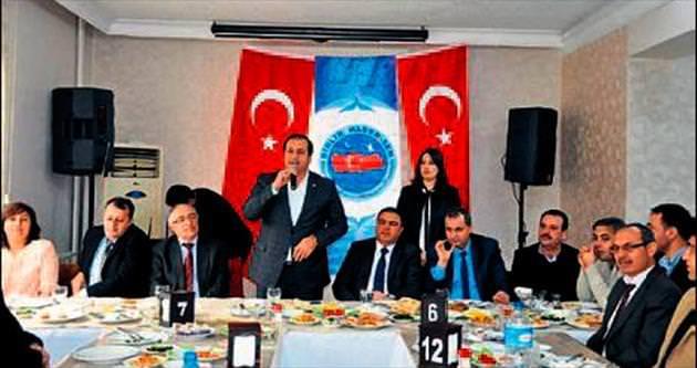 Birlik Haber-Sen Tarsus'ta dayanışma toplantısı yaptı