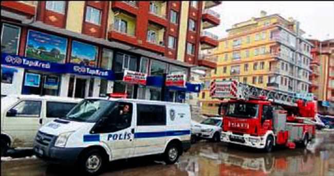 Kazan'da yangın paniğe neden oldu
