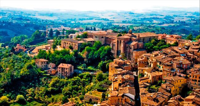Ortaçağ'dan günümüze Siena