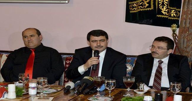 İstanbul protokolü Urfa sıra gecesinde buluştu