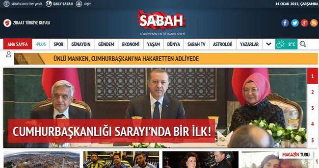 SABAH'ın yeni tasarımı Twitter'da TT oldu