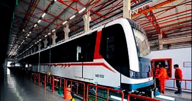 İzmir Metrosu'na 10 yeni vagon daha