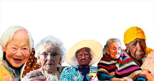 İşte dünyanın en yaşlı 6 kadını