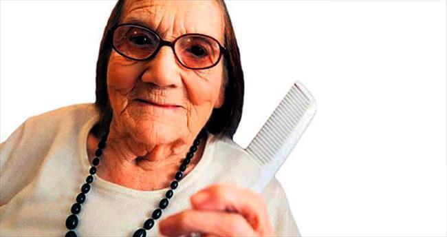 104 yaşında ama saçına ak düşmedi