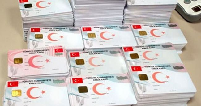 Çipli kimlik kartlar hazır