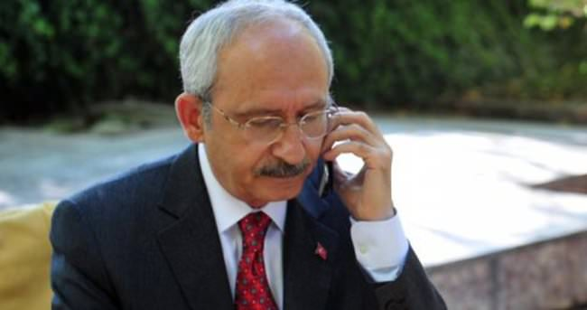 Kılıçdaroğlu'ndan 'Geçmiş olsun' telefonu
