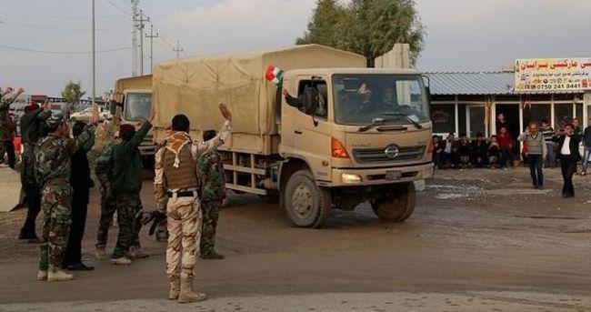 Kobani'deki Peşmerge gücü değiştirilecek