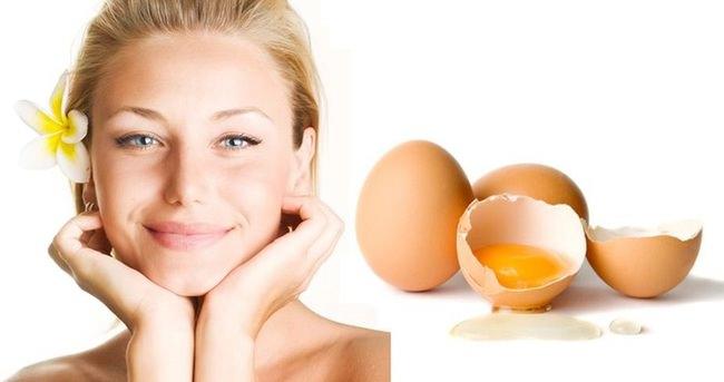 Cildi kuru olanlara yumurta maskesi