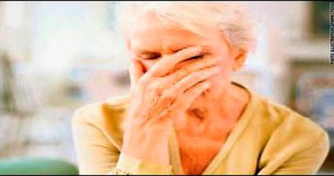 Alzheimer'ın ilk işareti depresyon