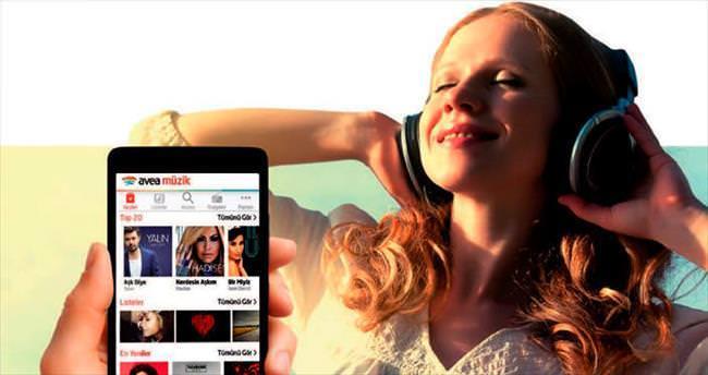 Avea Müzik ile dünyanın müziğine kulak verin!