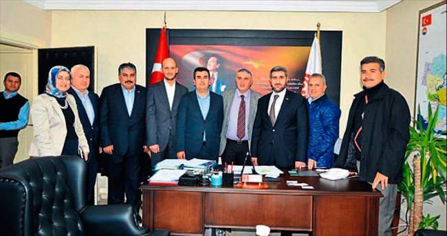 ASKON Adana Şubesi Yılmaz'ı ziyaret etti