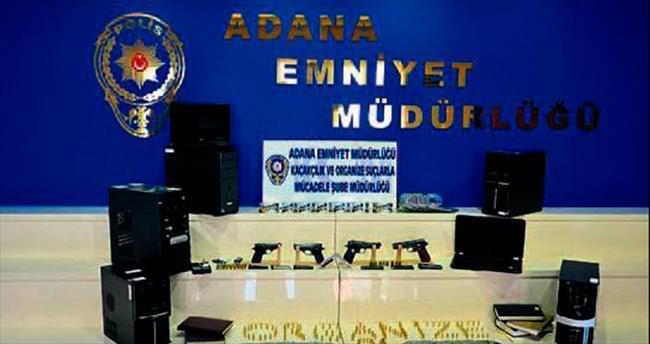 Adana'da suç örgütüne darbe