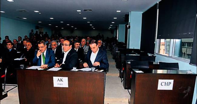 MHP'li meclis üyeleri CHP'den intikam aldı