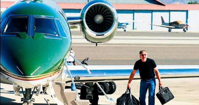 Ünlülerin milyon dolarlık uçakları