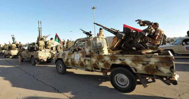 Libya'da tek taraflı ateşkes ilan edildi