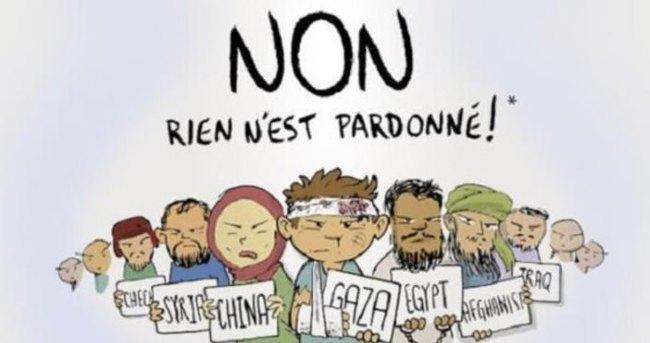 Cafcaf'tan Charlie Hebdo kapağı