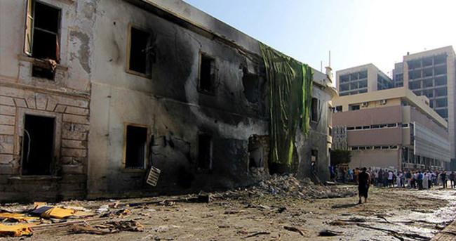 Cezayir Büyükelçiliği önünde patlama