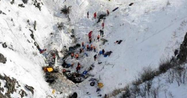 Trabzon'daki çığ felaketine 1 tutuklama
