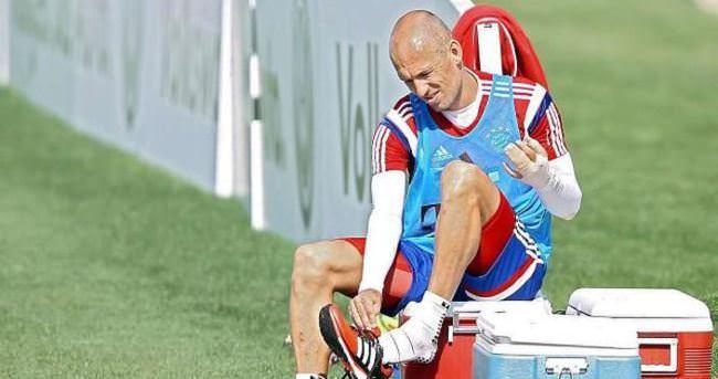Robben'in timsahı şaka çıktı