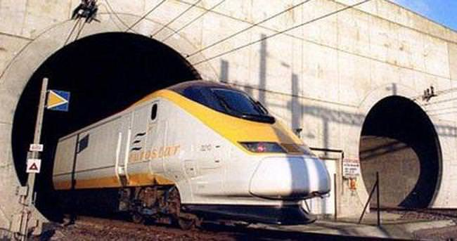 İngiltere'den Avrupa'ya tren seferleri durdu