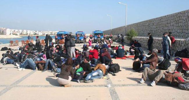 Balıkçı teknesinde 140 Suriyeli yakalandı