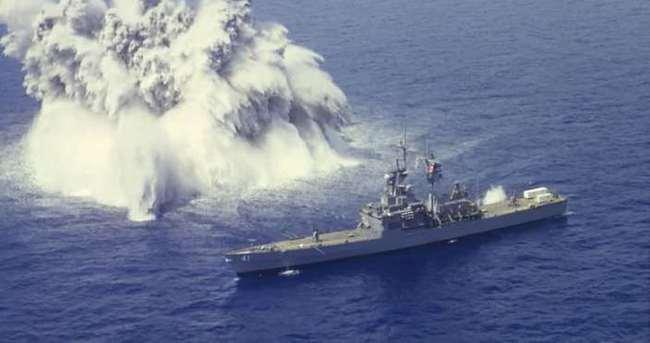 'ABD-Çin gemileri çatışmaya girdi!'