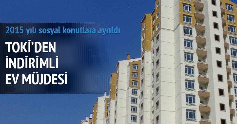 TOKİ'DEN VATANDAŞA İNDİRİMLİ EV MÜJDESİ!