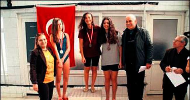 Okullararası gençler yüzme yarışmaları