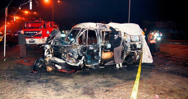 Kaza değil katliam: 6 ölü 4 yaralı