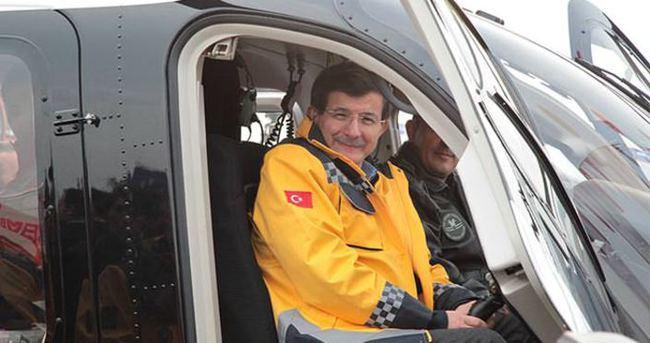 Davutoğlu: Gece uçuşuna sahip helikopteri devreye sokuyoruz