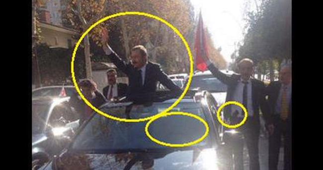 İdris Bal'ı kimse karşılamayınca silahlı şoförü devreye girdi