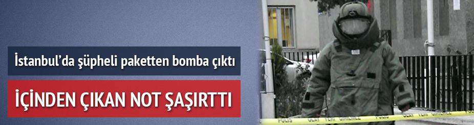Maltepe'de bomba alarmı