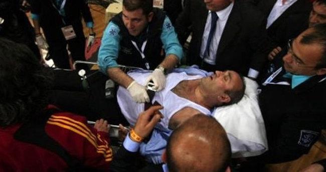 Abdurrahim Albayrak hastaneye kaldırıldı