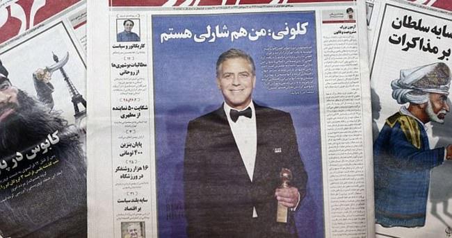 George Clooney manşeti gazetenin sonu oldu