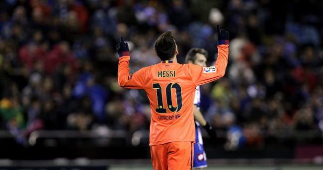 Messi maça damgasını vurdu!