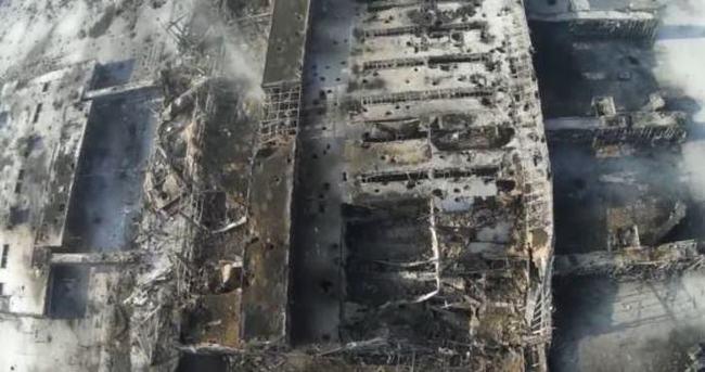 Donetsk Havaalanı'nın görüntüsü ürküttü