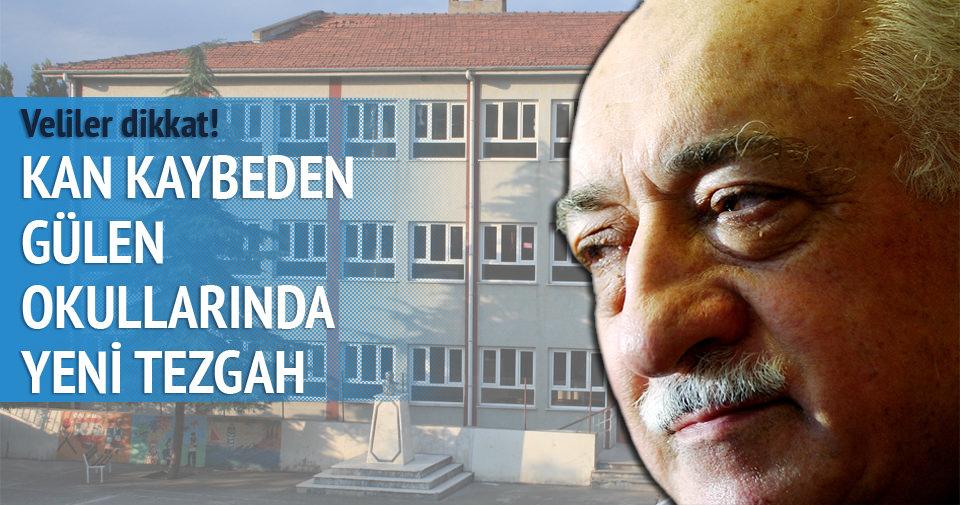 Kan kaybeden Gülen okullarından 'B planı'