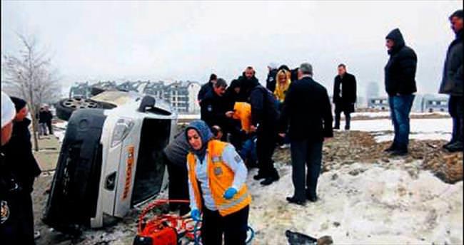 Gizli buzlanma kazaya yol açtı