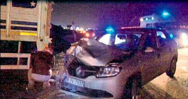 Kazan'da 7 araç birbirine girdi