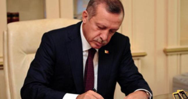 Erdoğan'dan YÖK'e atama