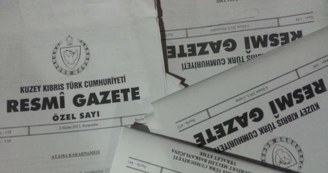 Resmi Gazete'de atama kararları