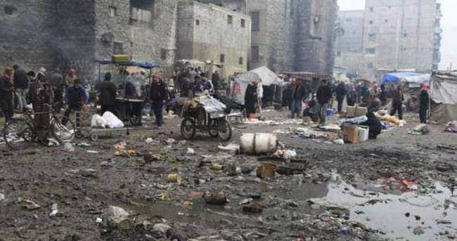 Pazar yerinde katliam: 65 ölü